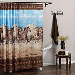 Zenna Home™ Running Free Shower Curtain