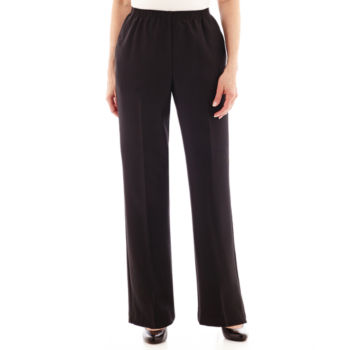 Petites Short Size Relaxed Fit Pants For Women Jcpenney