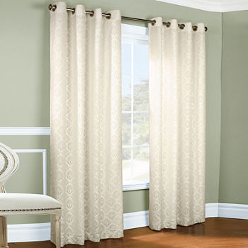 white shari curtains lace jcpenney kitchen