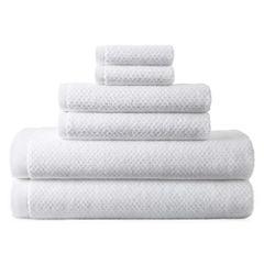 JCPenney Home™ Generous Solid 6-pc. Bath Towel Set