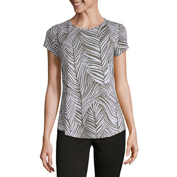 24f7c78319e4 Women's T-Shirts | V-Neck Shirts for Women | JCPenney