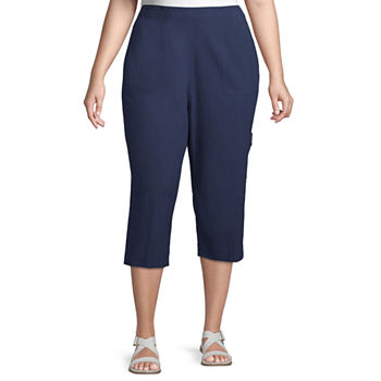 Alfred Dunner Island Hopping Plus Capris
