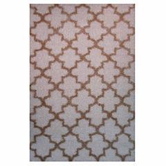 La Rugs Touch Pattern Shag Rectangular Runner