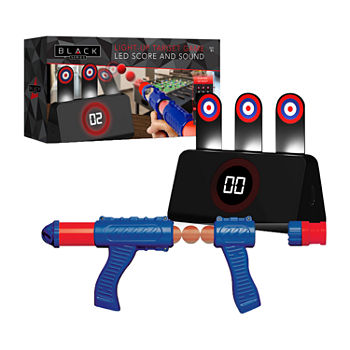 The Black Series Ball Launcher With Light-Up Target 5-pc. Table Game