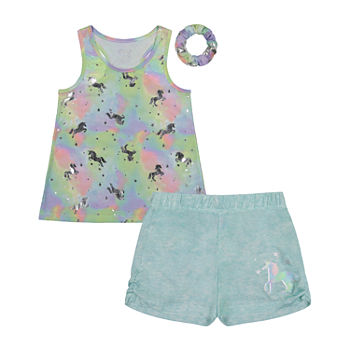Sleep On It Little & Big Girls 2-pc. Shorts Pajama Set