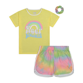Sleep On It Big Girls 2-pc. Shorts Pajama Set