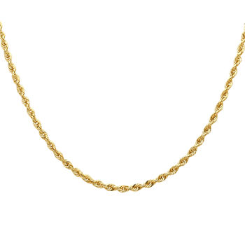 ae0b5d45f24ba 14k Gold Chain Necklaces | Yellow & White Gold Necklaces | JCPenney
