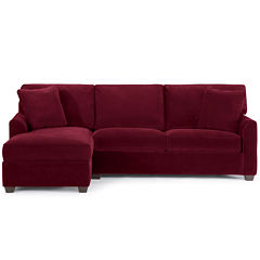 Fabric Possibilities Sharkfin 2-Pc Left Arm Sectional