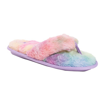 Muk Luks Maren Thong Womens Slip-On Slippers