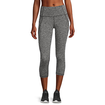 Xersion Womens High Rise Capri Leggings Petite