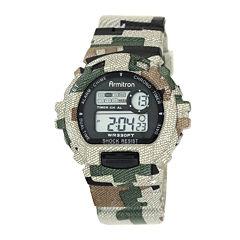 Armitron® Mens Camouflage Chronograph Digital Sport Watch 40/8216MILJ