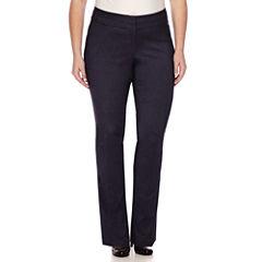Heart & Soul® Double Waist Pants - Juniors Plus Long