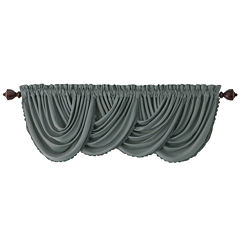 All Seasons Blackout Rod-Pocket/Back-Tab Valance