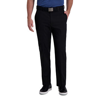 Haggar Cool Right Performance Flex Classic Fit Flat Front Men's Pant