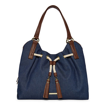 Liz Claiborne Leanne 4 Poster Shoulder Bag