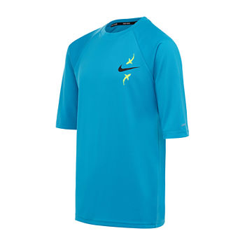 Nike Big Boys Swim Shirt