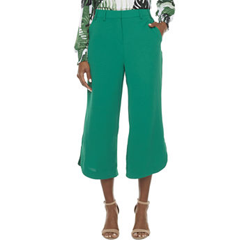 Worthington Mid Rise Cropped Pants