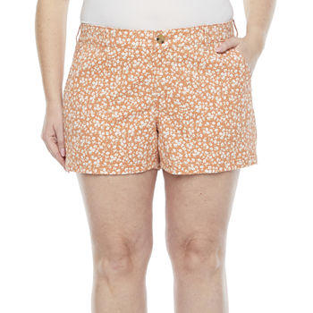 "a.n.a-Plus Womens 3.5"" Twill Short"
