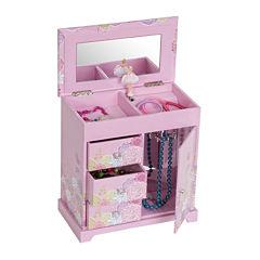 Mele & Co. Pearl Girls Musical Jewelry Box