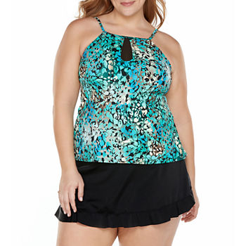 e1fbe0b528d43 St. John's Bay Plus Size Swimsuits for Shops - JCPenney