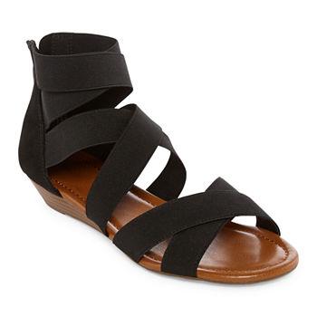 6db3331892801 a.n.a Womens Kim Heeled Sandals. Add To Cart. New. Black