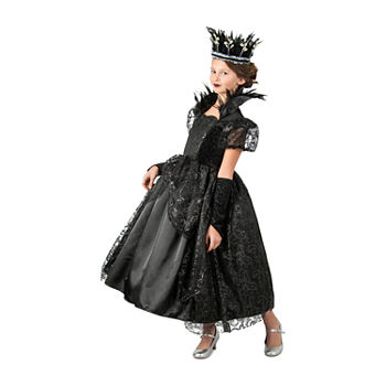 Girls Dark Princess Costume Girls Costume Girls Costume