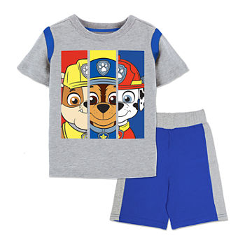 Toddler Boys 2-pc. Paw Patrol Short Set