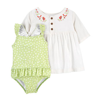 Carter's Baby Girls One Piece+Cover-Ups