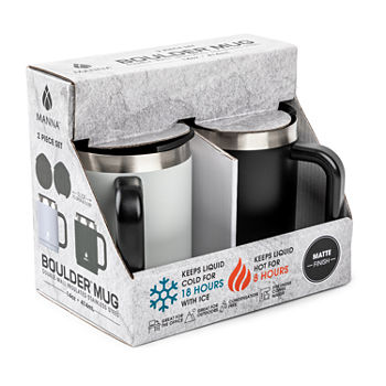 Manna Boulder 2-pc. Water Bottle