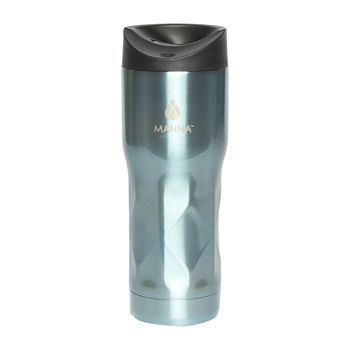 Manna 16oz Stainless Steel Textured Travel Mug