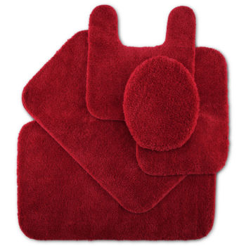 Not Applicable Red Bath Rugs Bath Mats For Bed Bath Jcpenney