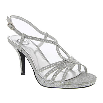 25174e410c86 CLEARANCE Silver Women s Special Occasion Shoes for Shoes - JCPenney