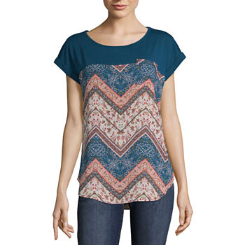 e502fe7102eb0 Rewind Shirts + Tops for Women - JCPenney