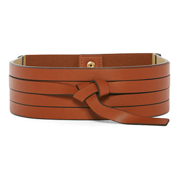 Worthington Layered Obi Stretch Womens Belt
