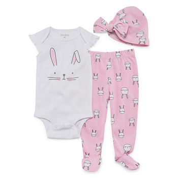 48976ce45f59 CLEARANCE Baby Girl Clothes 0-24 Months for Baby - JCPenney