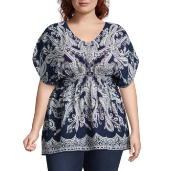 Clearance Plus Size Tops For Women Jcpenney