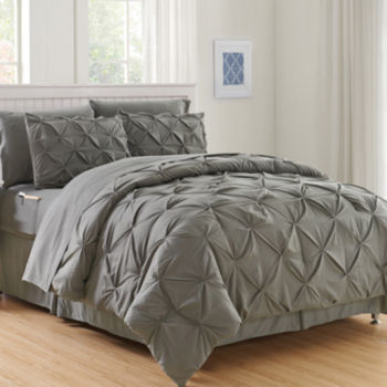 Twin Gray Comforters Bedding Sets For Bed Bath Jcpenney