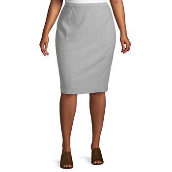 48338410f Versailles Alfred Dunner Skirt - Plus