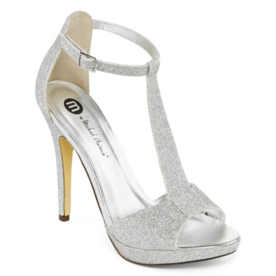Shoes Silver Heels Vgd3KMFR