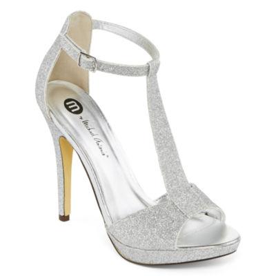 Shoes Silver Heels Vgd3KMFR