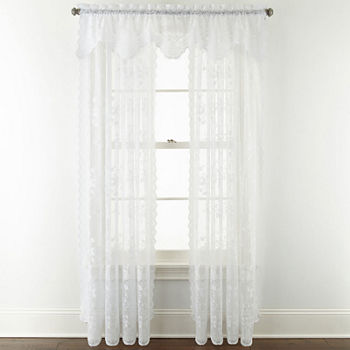 curtain pattern curtains floral beautifully amazon white window x dp crafted inches brightmaison preserves lace ac panel com