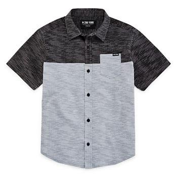 102b2322 Zoo York Boys Short Sleeve Button-Front Shirt Big Kid. Add To Cart. Few Left