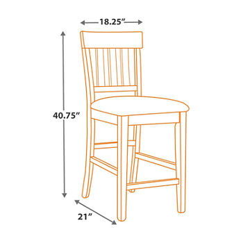 Awe Inspiring Signature Design By Ashley Towson Set Of 2 Counter Height Upholstered Bar Stools Unemploymentrelief Wooden Chair Designs For Living Room Unemploymentrelieforg
