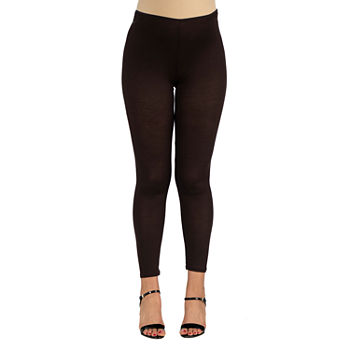 24/7 Comfort Apparel Womens Stretch Ankle Length Leggings