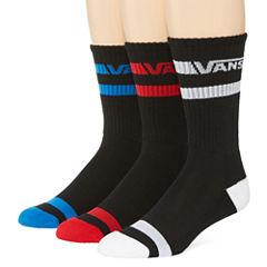 Vans® 3-pk. Striped Crew Socks