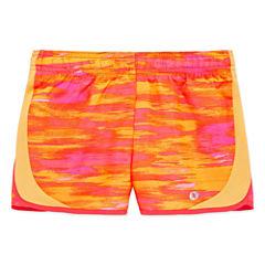 Xersion Pattern Running Shorts - Preschool Girls