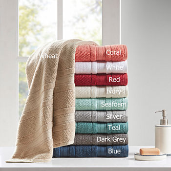 Remy Cotton Super Soft Solid 6-pc. Quick Dry Solid Bath Towel Set