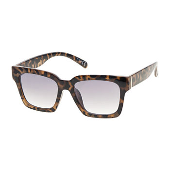 Arizona Large Plastic Square Womens Sunglasses