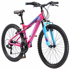 Mongoose Girls Front Suspension Mountain Bike
