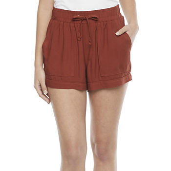 Arizona Womens Pull-On Short-Juniors